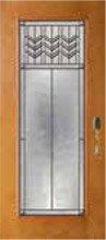Prairie Bevel Door Glass Style PB21