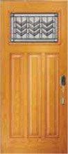 Prairie Bevel Door Glass Style PB33