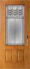 Prairie Bevel Door Glass Style PB81