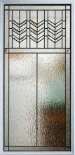 Prairie Bevel Door Glass Style