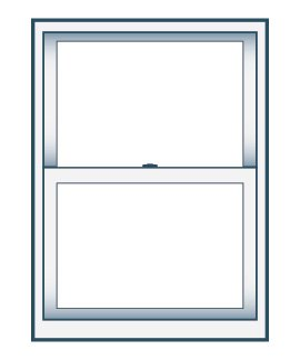 28 x 62 Double Hung Replacement Window