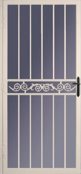 Steel Security Storm Door Simplicity Style