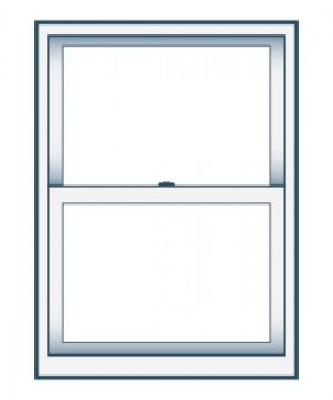 28 x 54 Double Hung Replacement Window