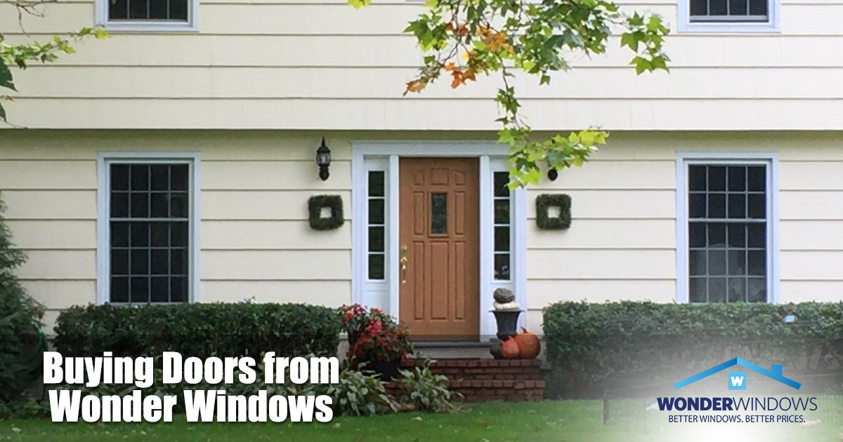 Buying Doors from Wonder Windows in Rochester & Buffalo NY