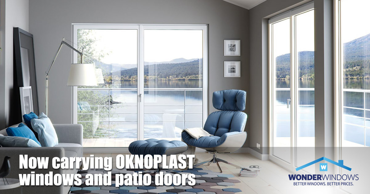 Wonder Windows Offering OKNOPLAST Windows and Patio Doors