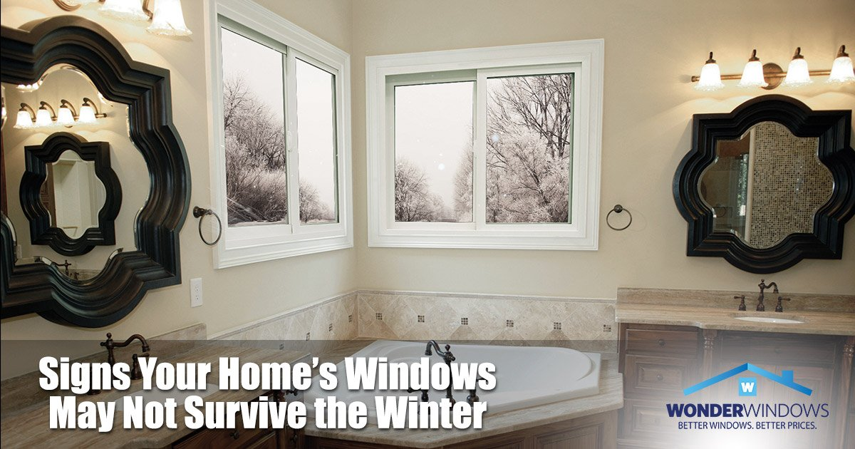 Signs Your Home's Windows May Not Survive the Winter