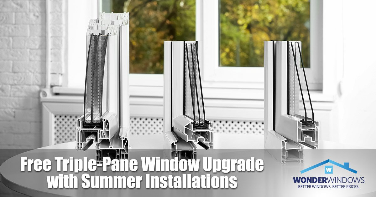 Free Triple-Pane Window Upgrade with Summer Installations