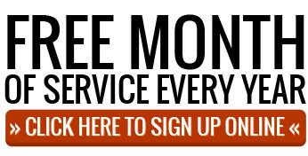 Free Month of Service Every Year