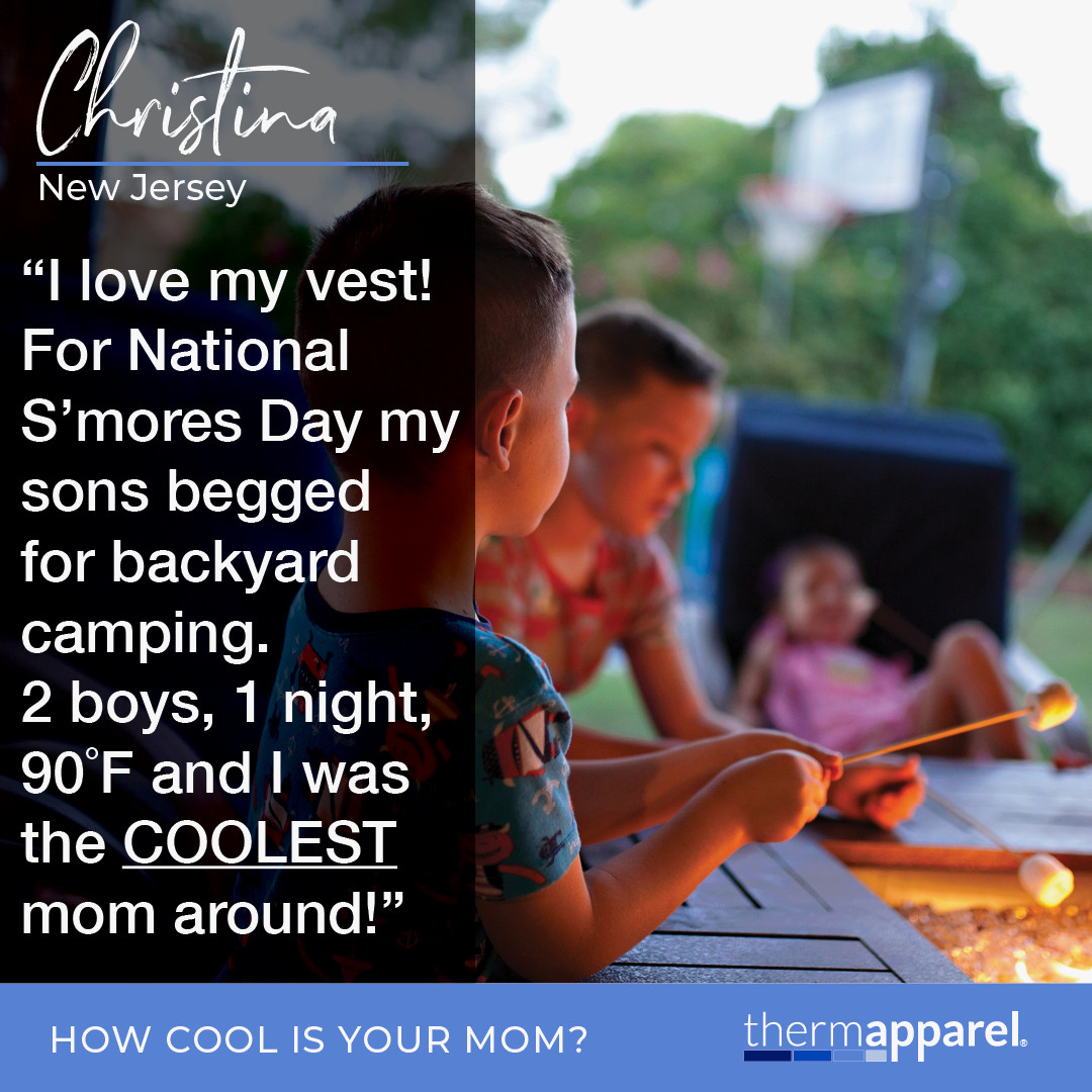 #RIPUPMS ThermApparel Testimonials - Now I Can - Cool Stories from Cool Customers - Christina