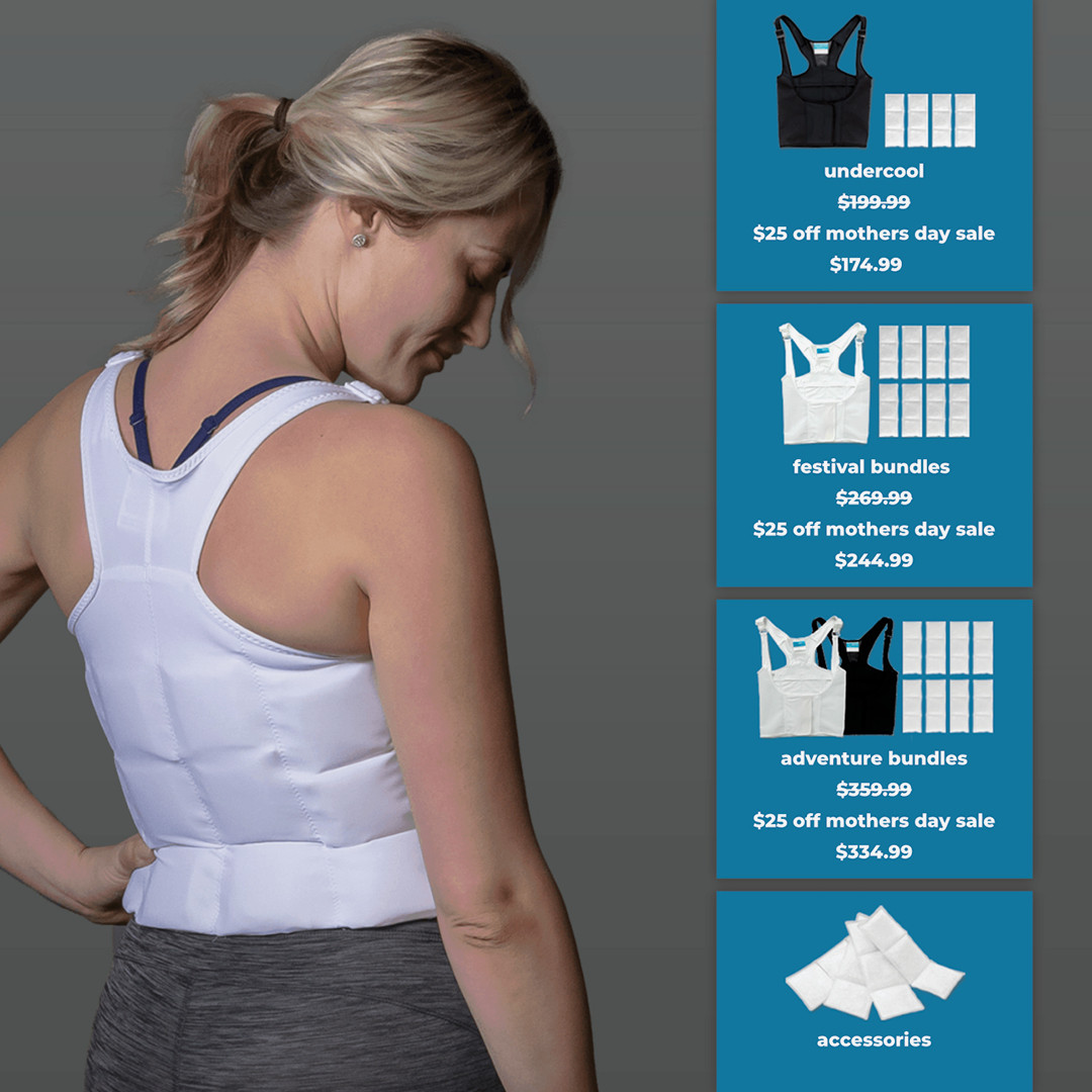ThermApparel UnderCool Cooling Vest Mother's Day Sale 2021