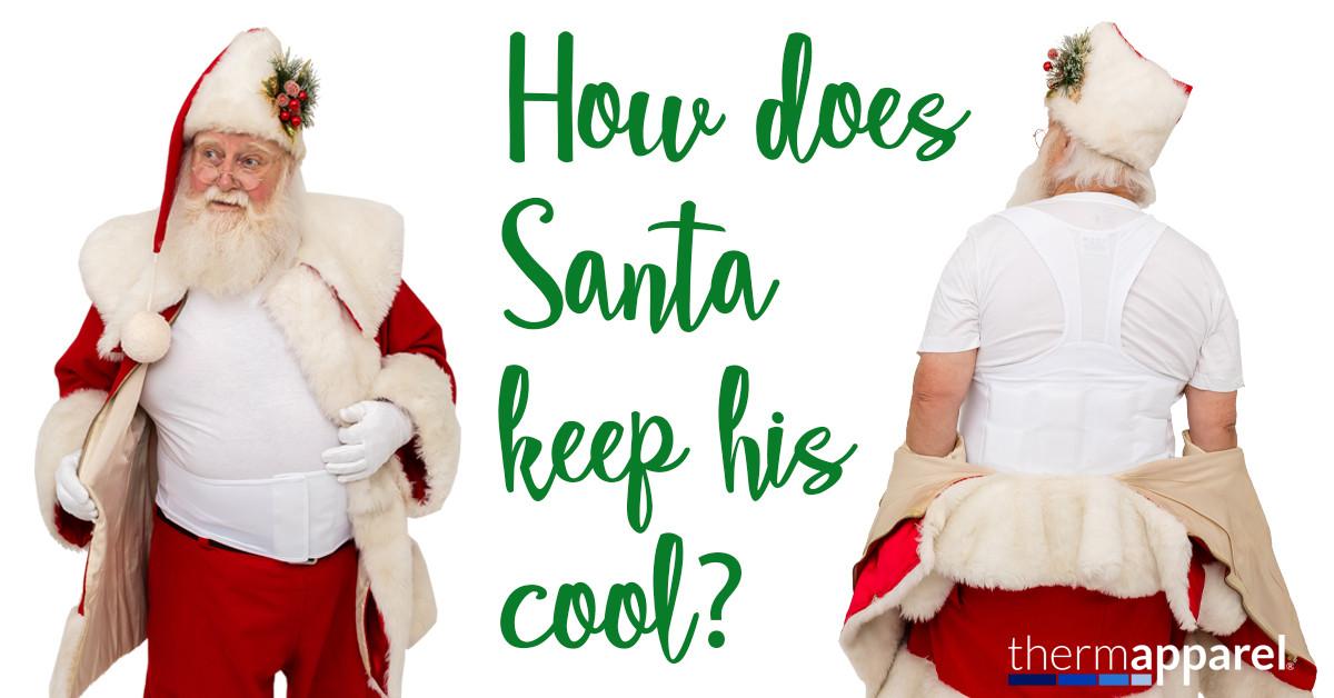 Santa, Costume and Mascot Cooling Vests
