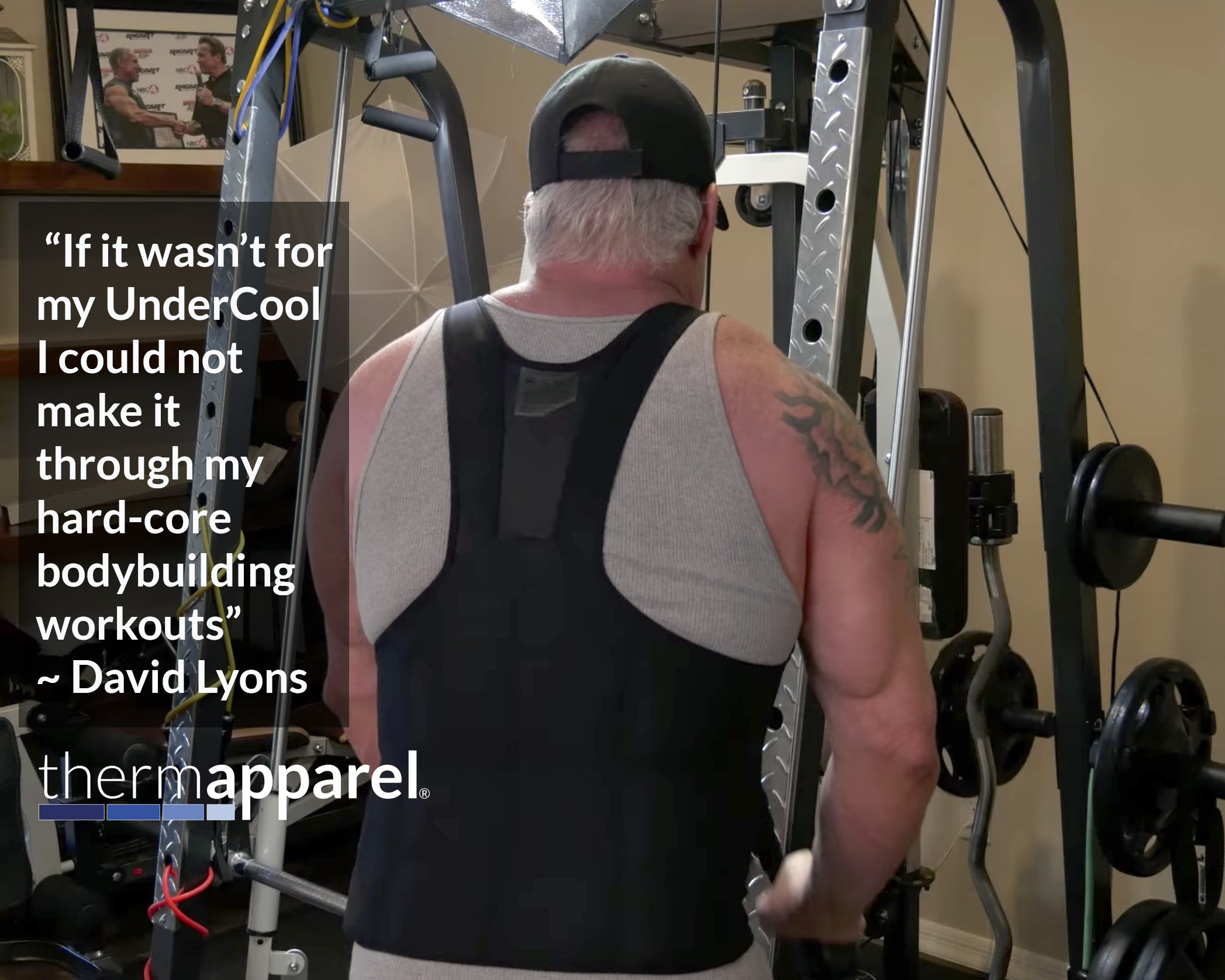 A COOLING VEST FOR MS IS A GREAT OPTION