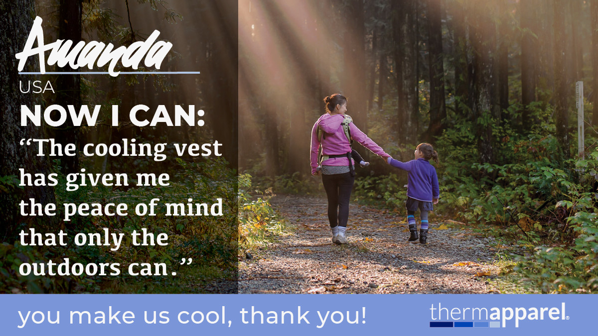 ThermApparel Testimonials - Now I Can - Cool Stories from Cool Customers - Amanda
