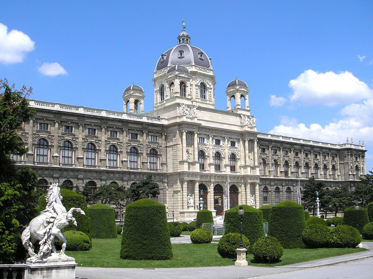 Naturhistoriches Museum in Vienna, Austria.