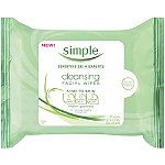 Facial Cleansing Wipes, Simple, $5.99