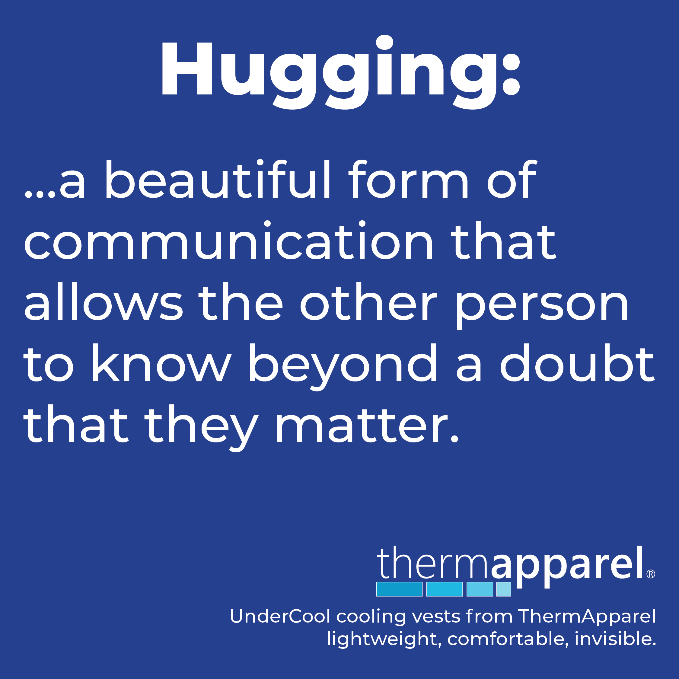 Hugging: a beautiful form of communication