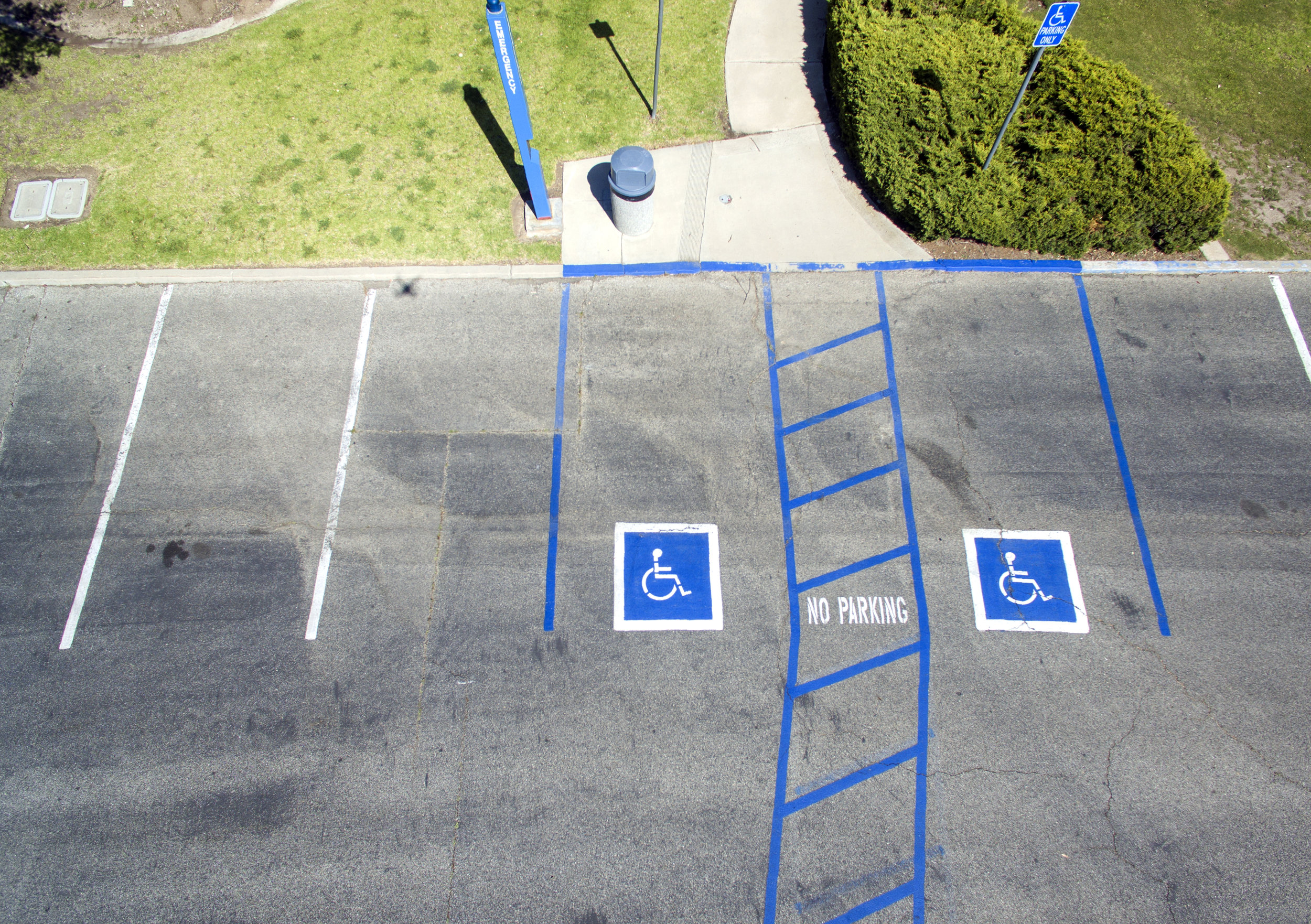 Handicap Parking Guide According to Dave