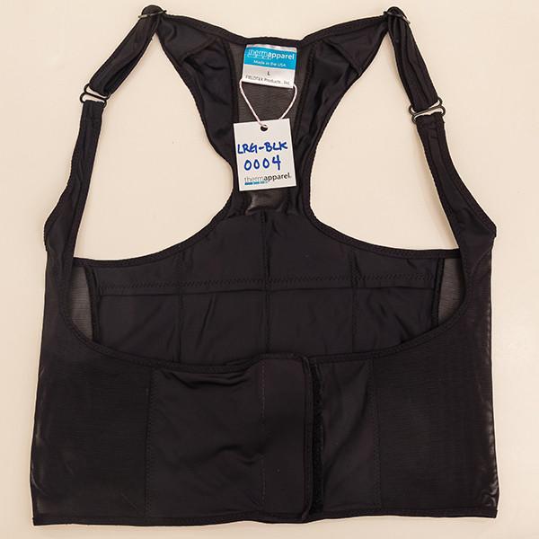 Black Large Vest - Scratch & Dent 0004