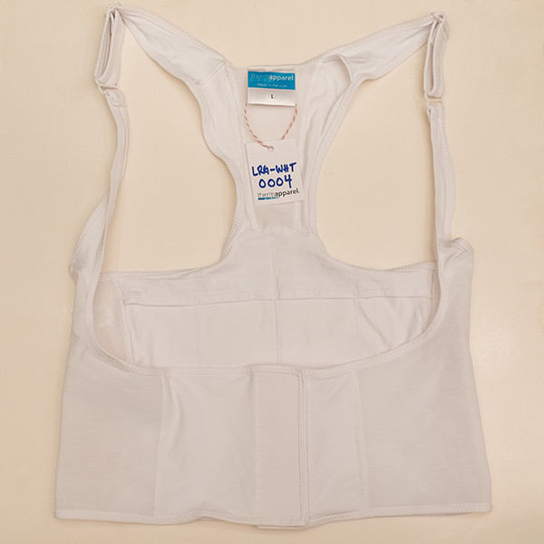 White Large Vest - Scratch & Dent 0004
