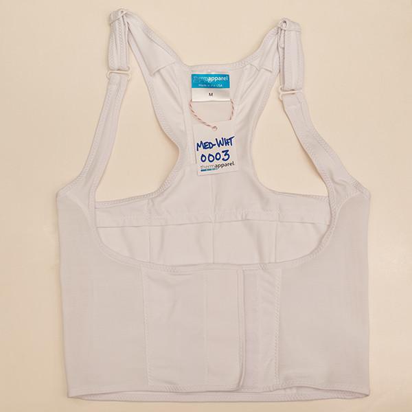 White Medium  Vest - Scratch & Dent 0003
