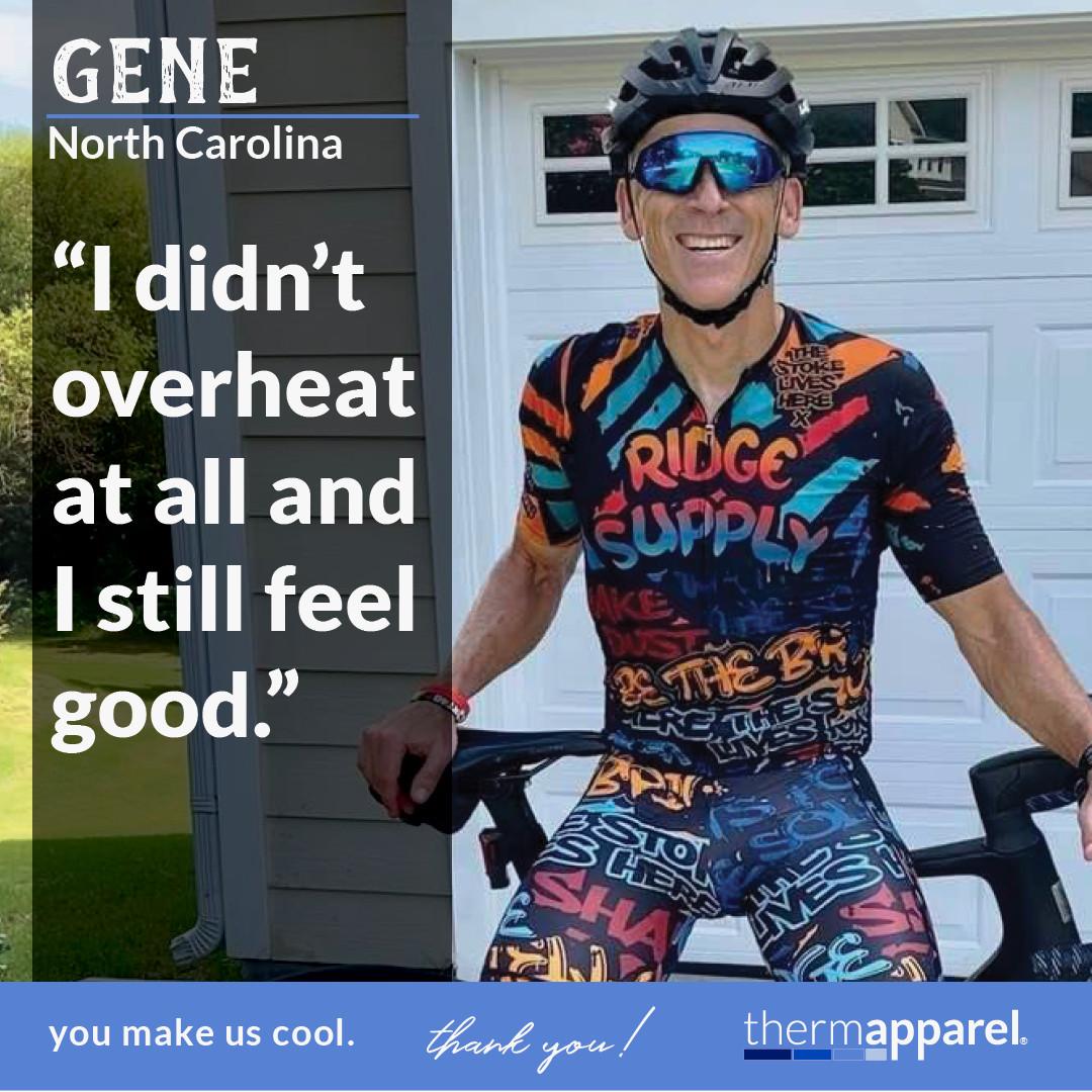 ThermApparel Testimonial Customer Gene Caffrey on Amazing Americans