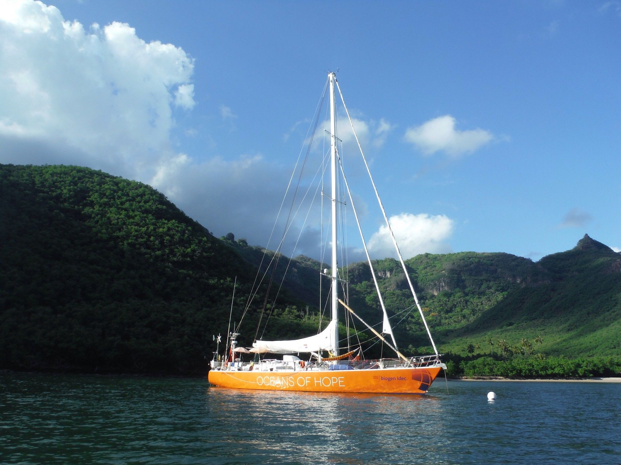 STUDY: Sailing Sclerosis Oceans of Hope Journey.