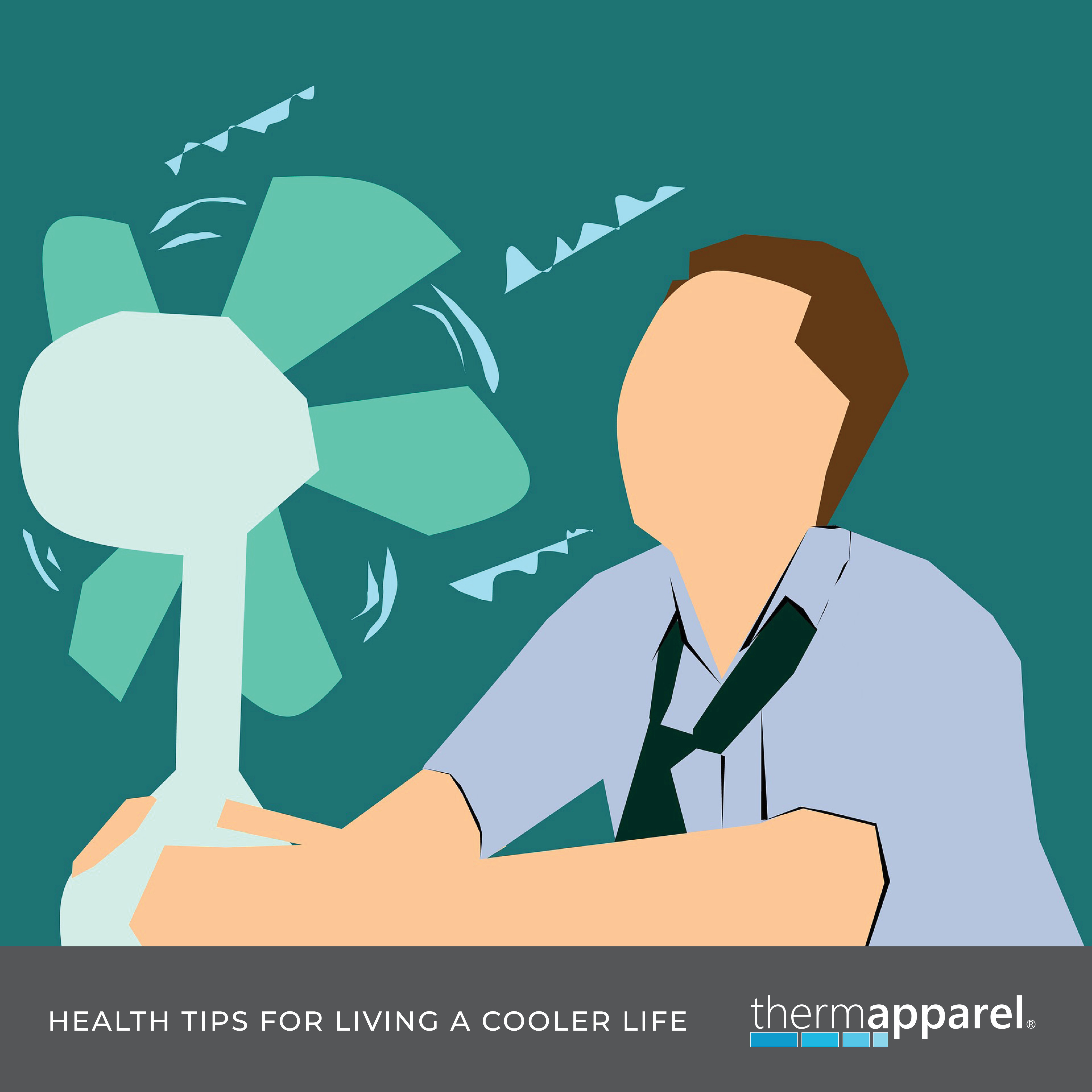 Interesting facts about sweating, breathing, and the science of cooling our bodies