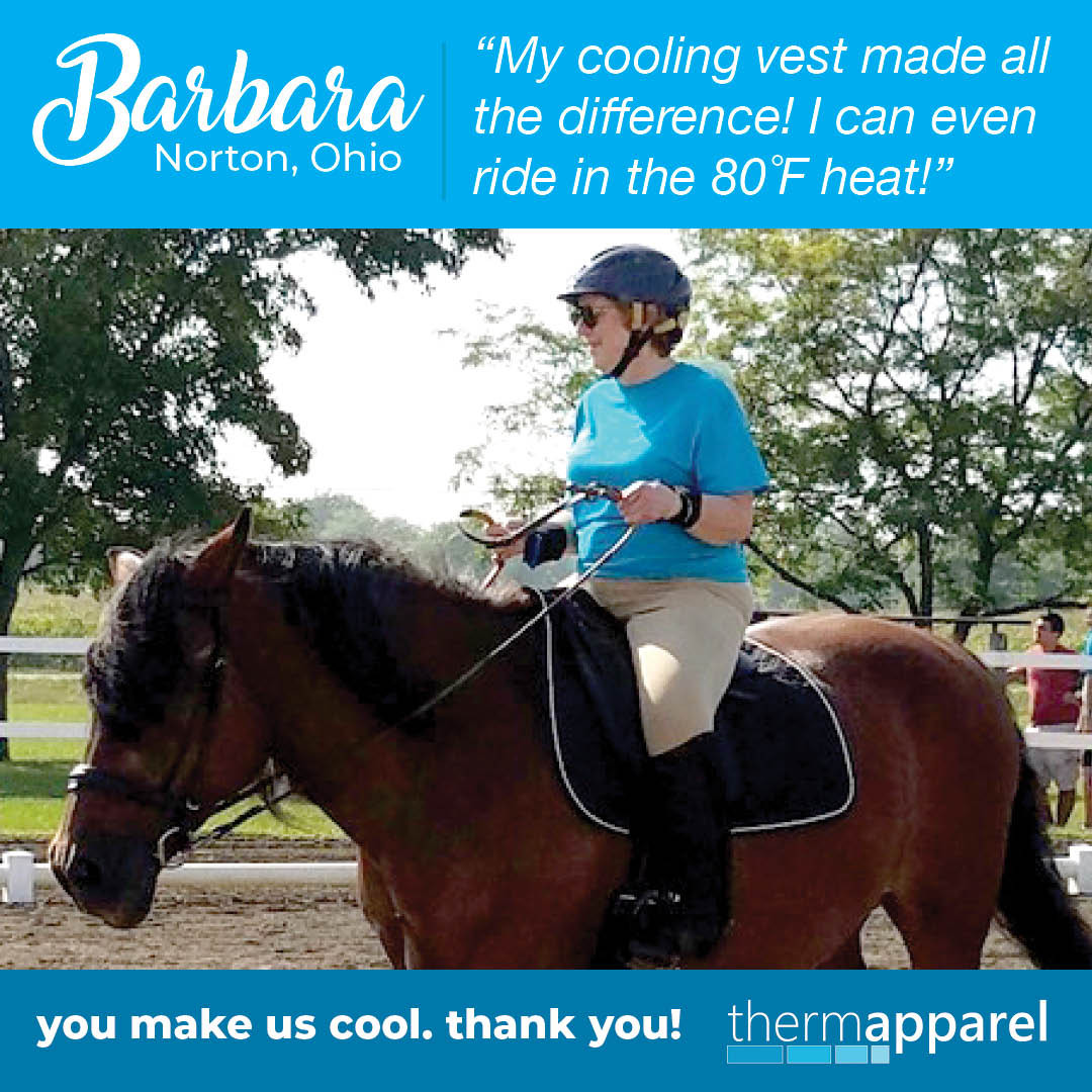 Testimonial - My Cooling Vest Made All The Difference