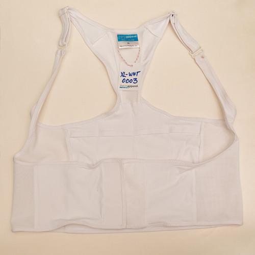 White Extra Large Vest - Scratch & Dent 0003