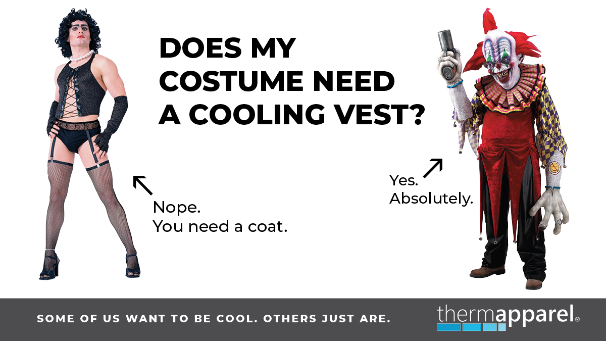 Do I need a cooling vest for my costume?