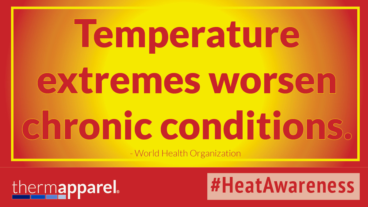 Help with Temperature Extremes and Extreme Heat for Chronic Illness