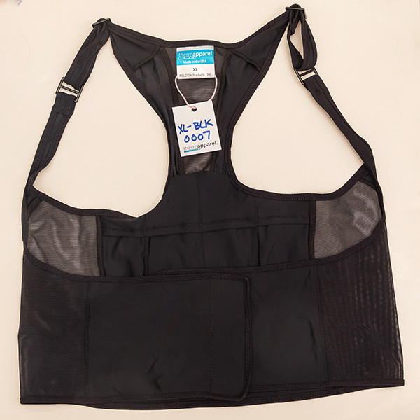 Black Extra Large Vest - Scratch & Dent 0007