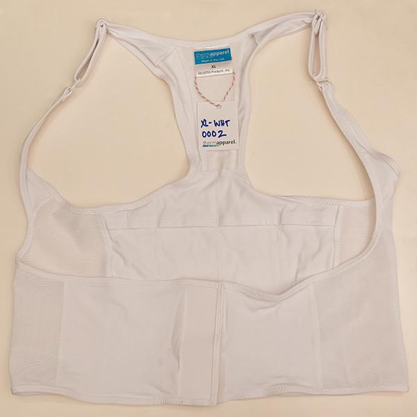 White Extra Large Vest - Scratch & Dent 0002