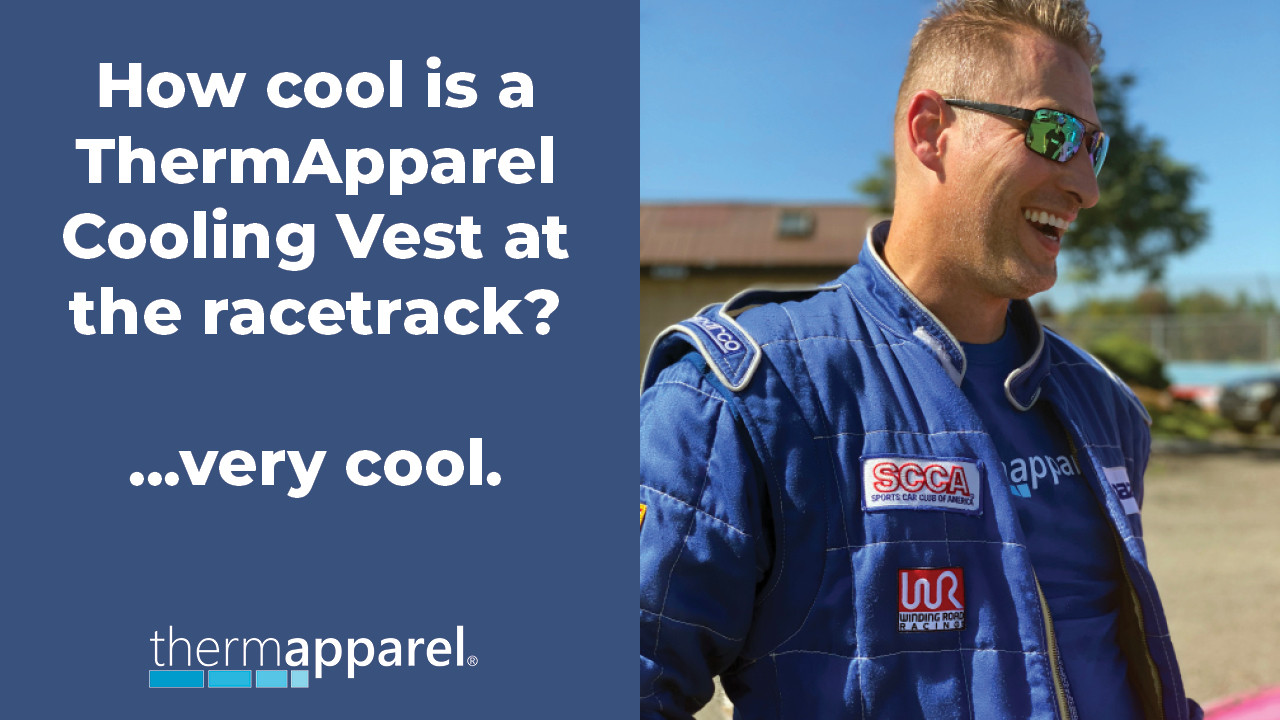 Innovative cooling vest improves performance racers overall performance