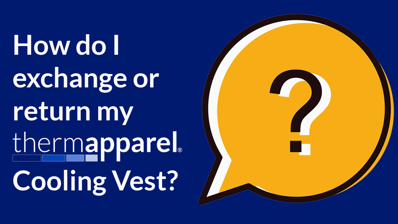 How to  exchange or return with ThermApparel