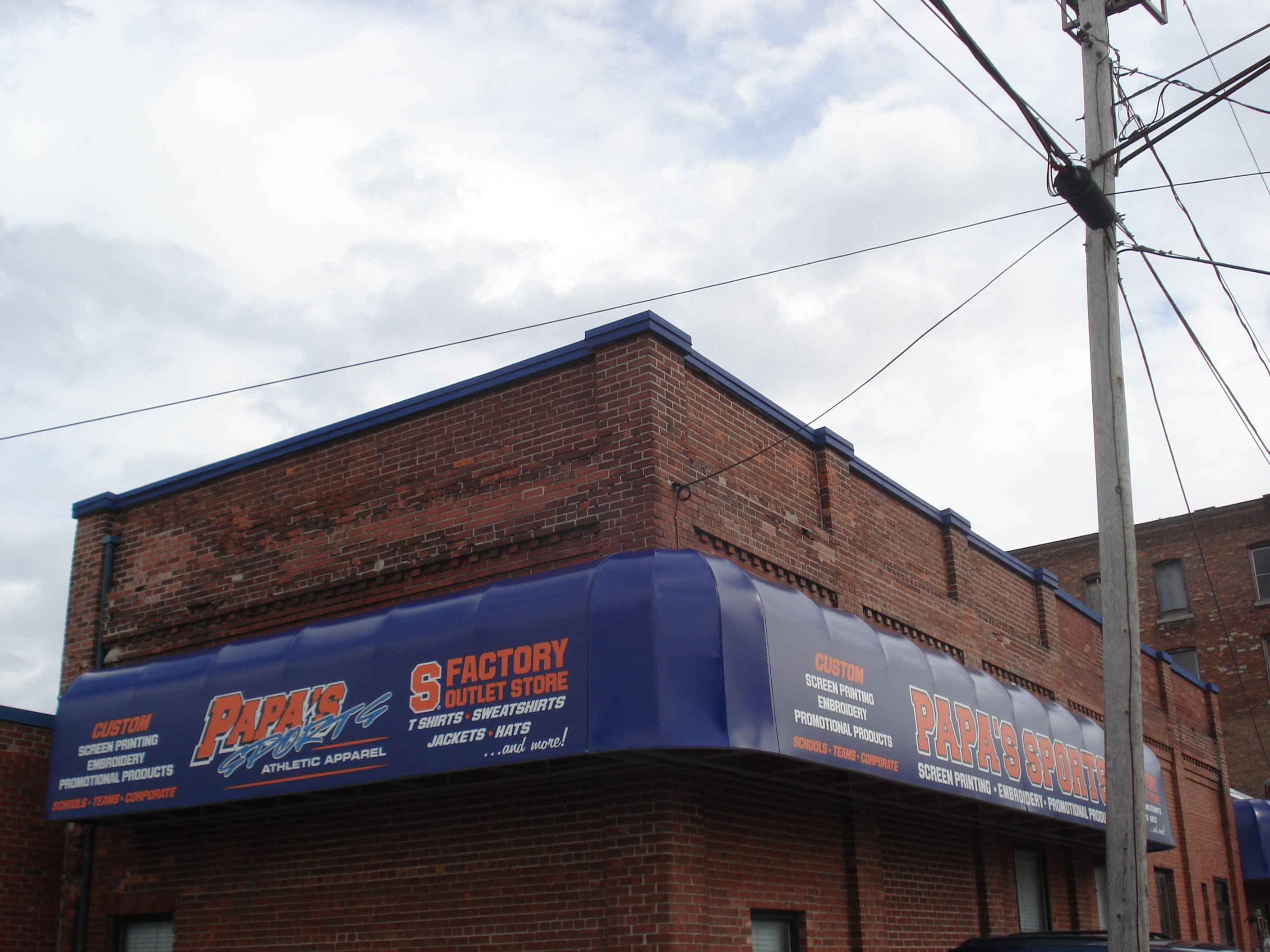 Commercial Awning Pictures