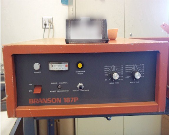 Branson 187P Power Supply Repairs