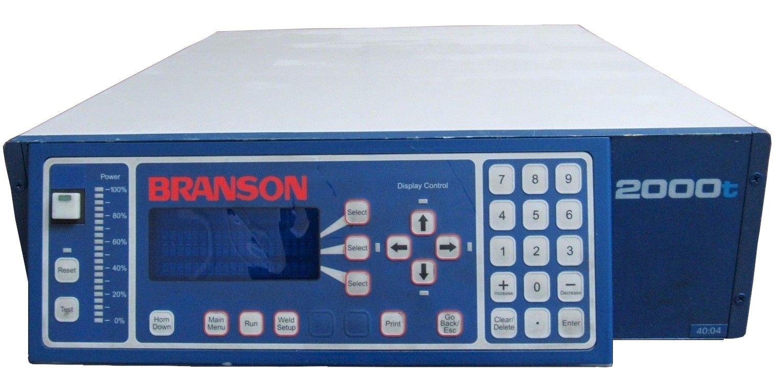 Branson 2000T Power Supply Repairs