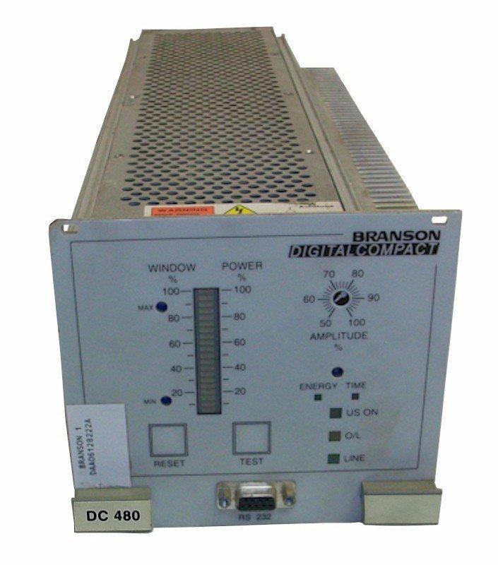 Branson DC480 40:0.8 Power Supply Repairs