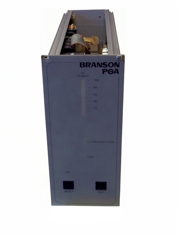 Branson PGA230 Power Supply Repairs