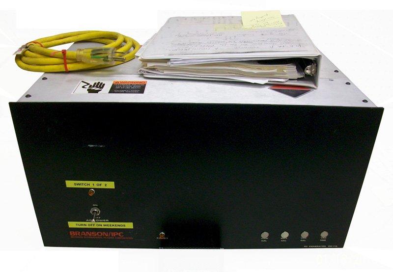 Branson PM-112 RF Generator Repairs