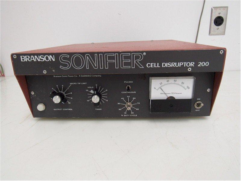 Branson Sonifier 200 Repairs