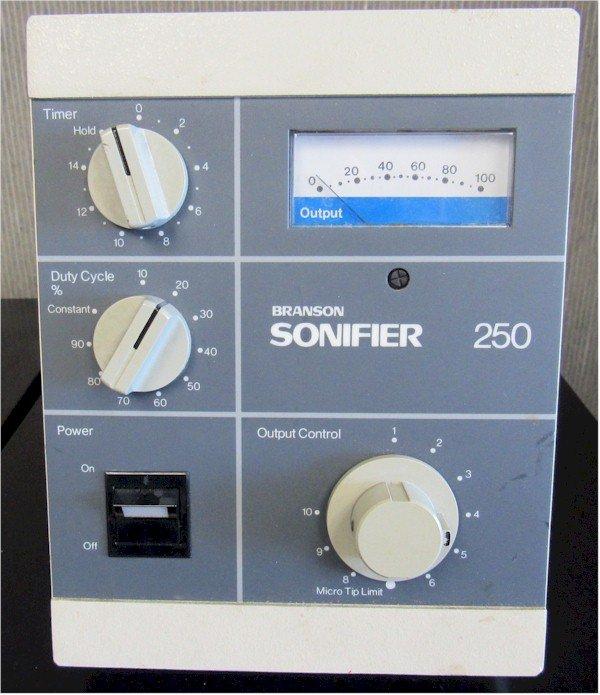Branson Sonifier 250 Repairs