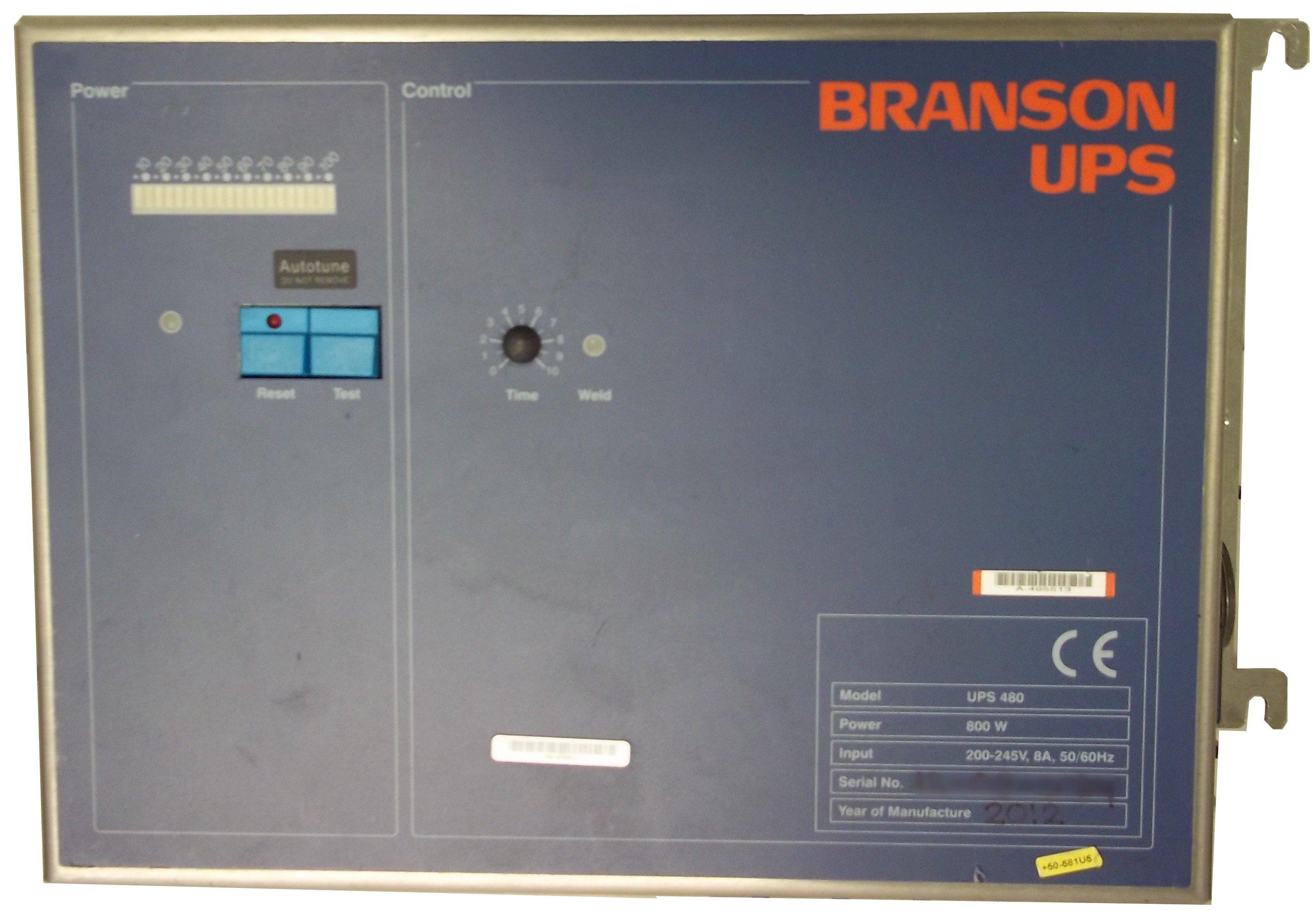 Branson UPS480 Power Supply Repairs