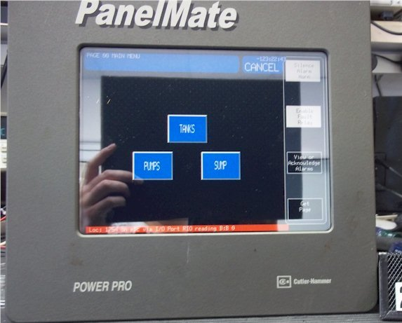 Cutler Hammer 3985T-PM-PP-3000 Operator Interface PanelMate 24VDC/1.3amp 26w Repairs