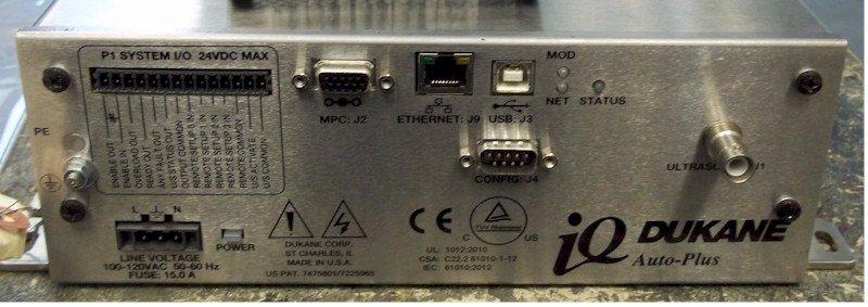 Dukane 40AT060-2M IQ Auto Plus Power Supply Repairs