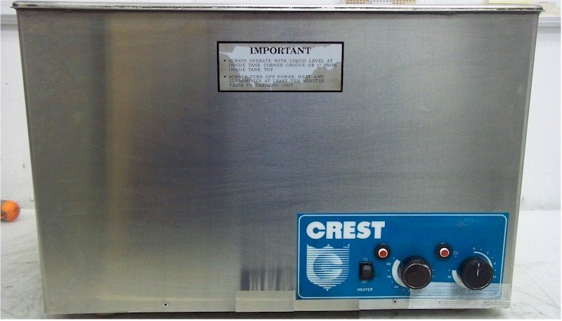 Crest Ultrasonic HT-1524-12 Transducerized Tank Repairs