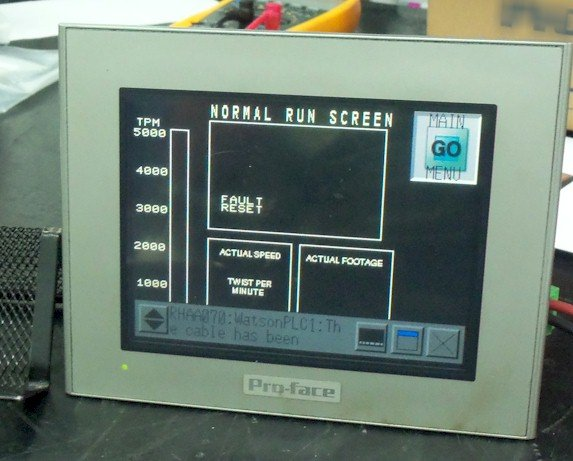 "Proface Graphics AGP3300-T1-D24 5.7"" Operator Interface Repairs"