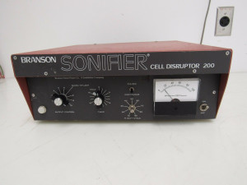 Branson W-200P Sonifier Cell Disruptor