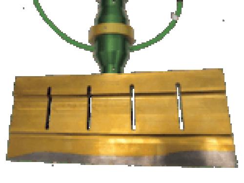 Ultrasonic Cutting Blade Horn